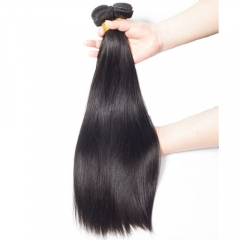 Diosa Hair Brazilian Straight Hair Non-Remy Hair Bundle 8-28 Inch Natural Color Human Hair Weaving