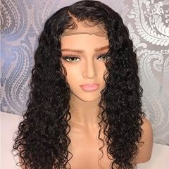 Pre Plucked Lace Front Wigs with Baby Hair Curly Hair Full Lace Wigs for Black Women Brazilian Virgin Human Hair Wigs